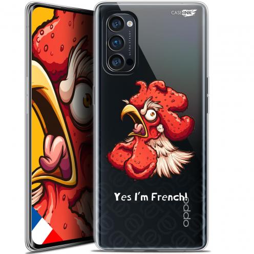 "Carcasa Gel Extra Fina Oppo Reno 4 Pro 5G (6.5"") Design I'm French Coq"