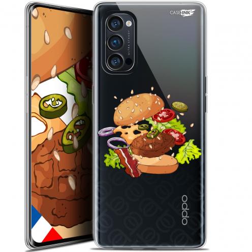 "Carcasa Gel Extra Fina Oppo Reno 4 Pro 5G (6.5"") Design Splash Burger"