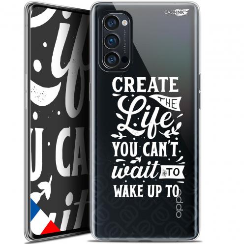 "Carcasa Gel Extra Fina Oppo Reno 4 Pro 5G (6.5"") Design Wake Up Your Life"