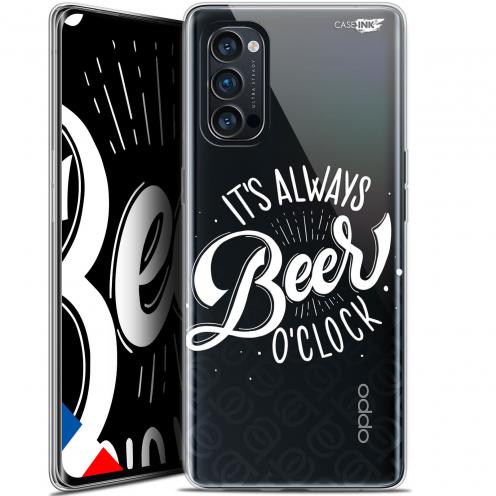 "Carcasa Gel Extra Fina Oppo Reno 4 Pro 5G (6.5"") Design Its Beer O'Clock"