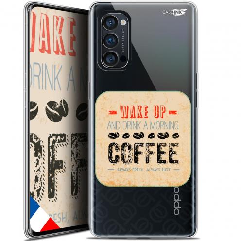 "Carcasa Gel Extra Fina Oppo Reno 4 Pro 5G (6.5"") Design Wake Up With Coffee"