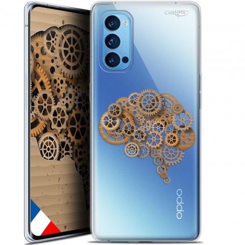 "Carcasa Gel Extra Fina Oppo Reno 4 Pro 5G (6.5"") Design Mécanismes du Cerveau"