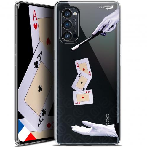 "Carcasa Gel Extra Fina Oppo Reno 4 Pro 5G (6.5"") Design Cartes Magiques"