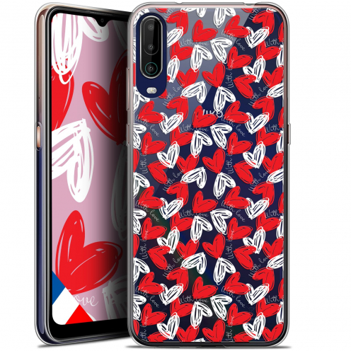 """Carcasa Gel Extra Fina Wiko View 4 (6.5"""") Love With Love"""