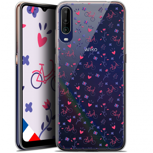 """Carcasa Gel Extra Fina Wiko View 4 (6.5"""") Love Bicycle"""