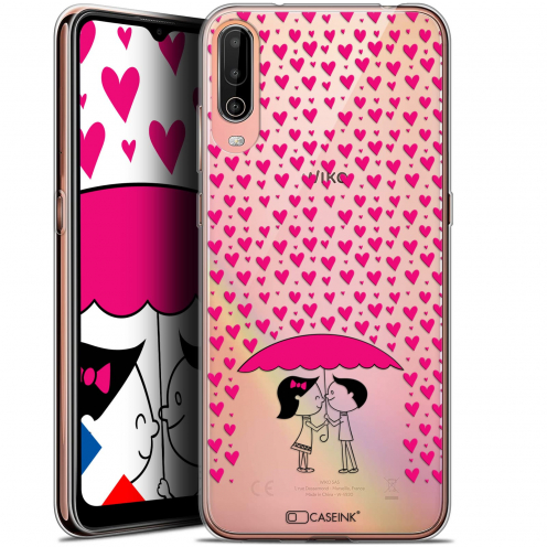 """Carcasa Gel Extra Fina Wiko View 4 (6.5"""") Love Pluie d'Amour"""