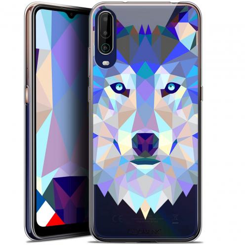 "Carcasa Gel Extra Fina Wiko View 4 (6.5"") Polygon Animals Lobo"