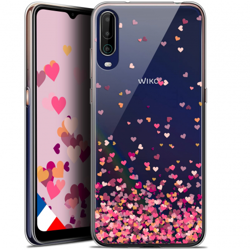 """Carcasa Gel Extra Fina Wiko View 4 (6.5"""") Sweetie Heart Flakes"""