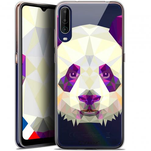 "Carcasa Gel Extra Fina Wiko View 4 (6.5"") Polygon Animals Panda"