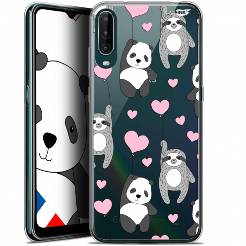 "Carcasa Gel Extra Fina Wiko View 4 (6.5"") Design Panda'mour"