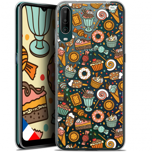 "Carcasa Gel Extra Fina Wiko View 4 (6.5"") Design Bonbons"