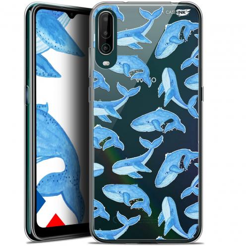 "Carcasa Gel Extra Fina Wiko View 4 (6.5"") Design Baleines"