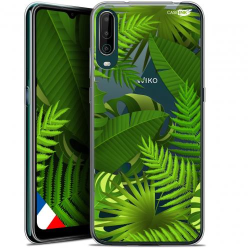 "Carcasa Gel Extra Fina Wiko View 4 (6.5"") Design Plantes des Tropiques"