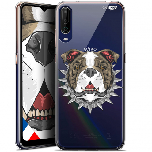 "Carcasa Gel Extra Fina Wiko View 4 (6.5"") Design Doggy"