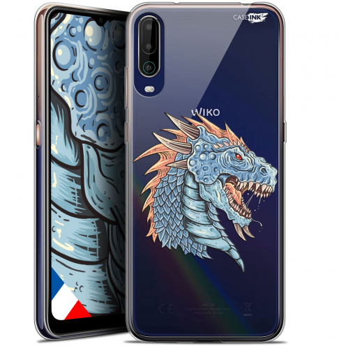 "Carcasa Gel Extra Fina Wiko View 4 (6.5"") Design Dragon Draw"