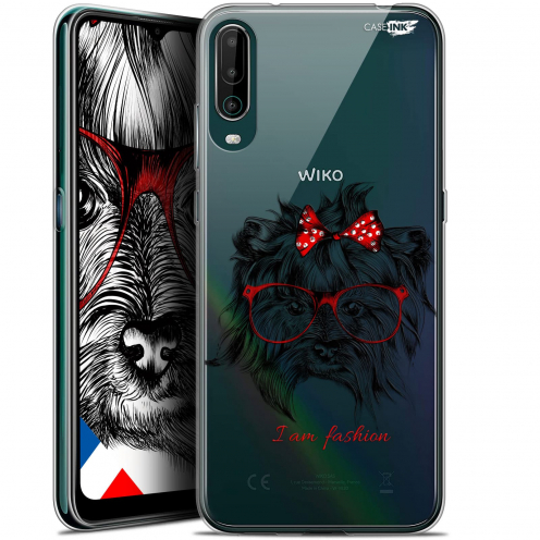 "Carcasa Gel Extra Fina Wiko View 4 (6.5"") Design Fashion Dog"