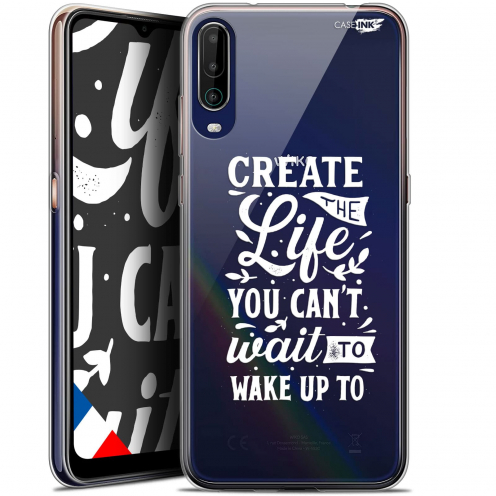 "Carcasa Gel Extra Fina Wiko View 4 (6.5"") Design Wake Up Your Life"