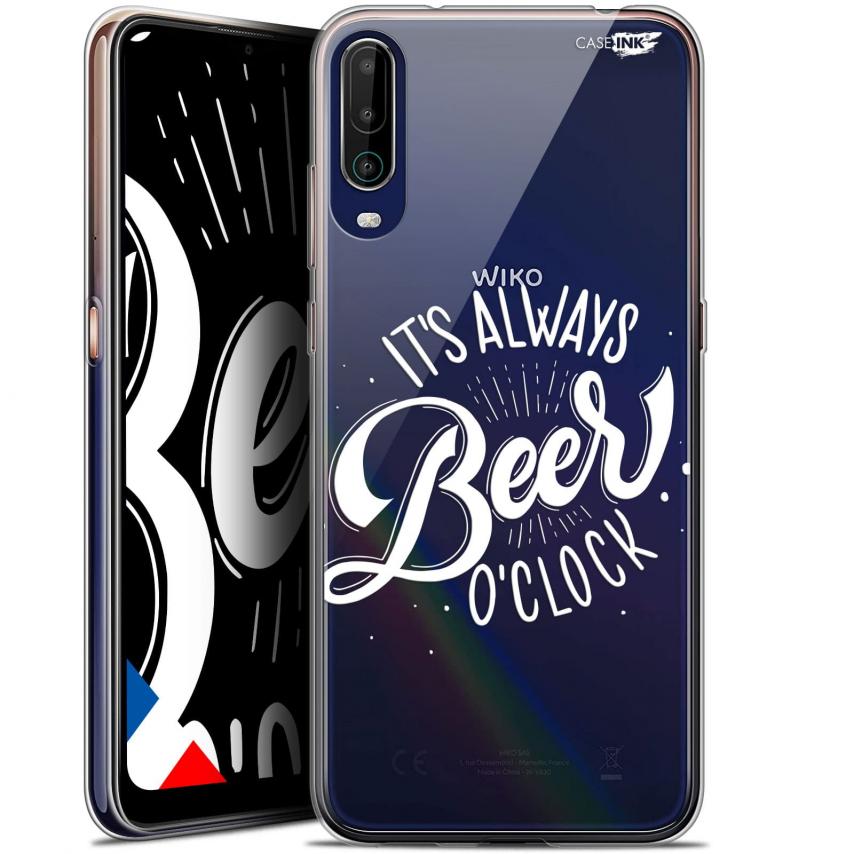 "Carcasa Gel Extra Fina Wiko View 4 (6.5"") Design Its Beer O'Clock"
