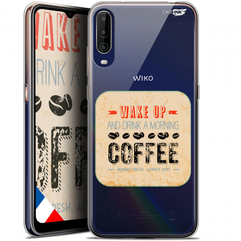 "Carcasa Gel Extra Fina Wiko View 4 (6.5"") Design Wake Up With Coffee"