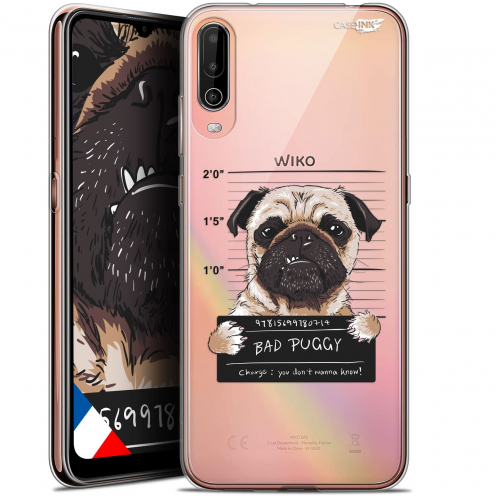 "Carcasa Gel Extra Fina Wiko View 4 (6.5"") Design Beware The Puggy Dog"