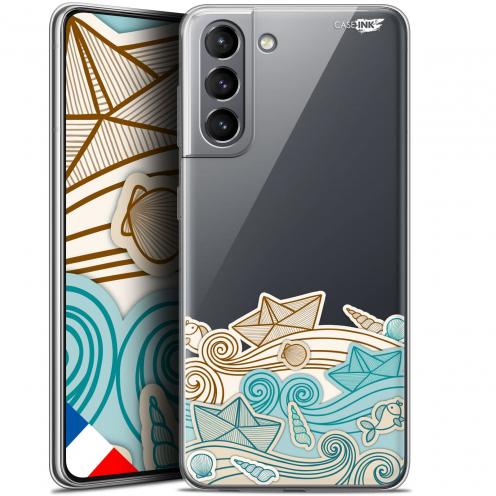 "Carcasa Gel Extra Fina Samsung Galaxy S21 (6.2"") Design Bateau de Papier"