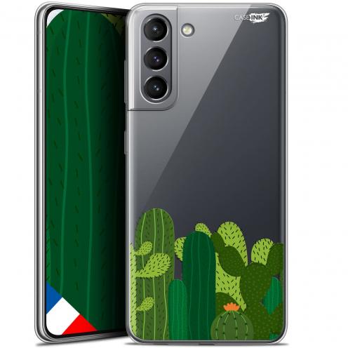 "Carcasa Gel Extra Fina Samsung Galaxy S21 (6.2"") Design Cactus"