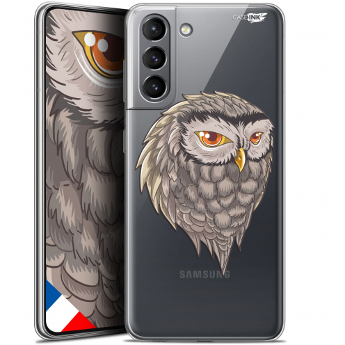 "Carcasa Gel Extra Fina Samsung Galaxy S21 (6.2"") Design Hibou Draw"