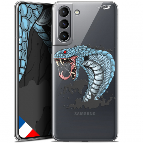 "Carcasa Gel Extra Fina Samsung Galaxy S21 (6.2"") Design Cobra Draw"