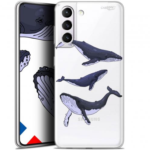 "Carcasa Gel Extra Fina Samsung Galaxy S21 (6.2"") Design Les 3 Baleines"
