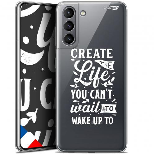 "Carcasa Gel Extra Fina Samsung Galaxy S21 (6.2"") Design Wake Up Your Life"