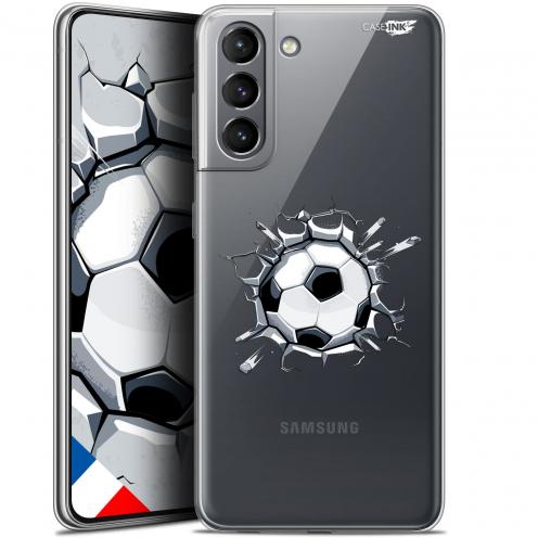 """Carcasa Gel Extra Fina Samsung Galaxy S21 (6.2"""") Design Le Balon de Foot"""
