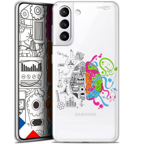 "Carcasa Gel Extra Fina Samsung Galaxy S21 (6.2"") Design Le Cerveau"