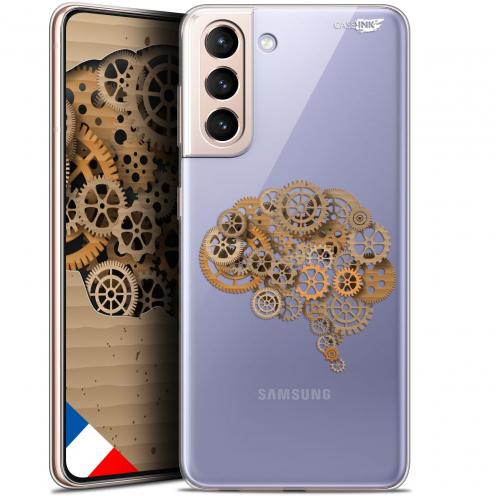 "Carcasa Gel Extra Fina Samsung Galaxy S21 (6.2"") Design Mécanismes du Cerveau"