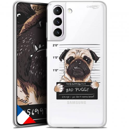 "Carcasa Gel Extra Fina Samsung Galaxy S21 (6.2"") Design Beware The Puggy Dog"