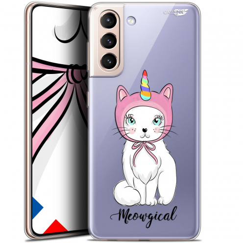 "Carcasa Gel Extra Fina Samsung Galaxy S21 (6.2"") Design Ce Chat Est MEOUgical"