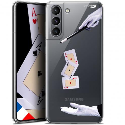 """Carcasa Gel Extra Fina Samsung Galaxy S21 (6.2"""") Design Cartes Magiques"""