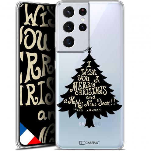 "Carcasa Gel Extra Fina Samsung Galaxy S21 Ultra (6.8"") Noël 2017 XOXO Tree"