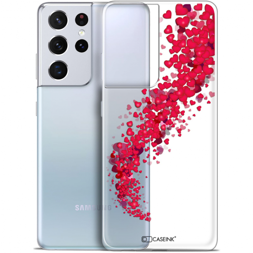"Carcasa Gel Extra Fina Samsung Galaxy S21 Ultra (6.8"") Love Tornado"