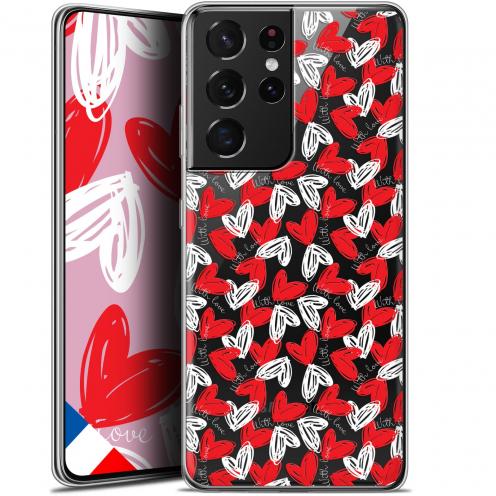 "Carcasa Gel Extra Fina Samsung Galaxy S21 Ultra (6.8"") Love With Love"