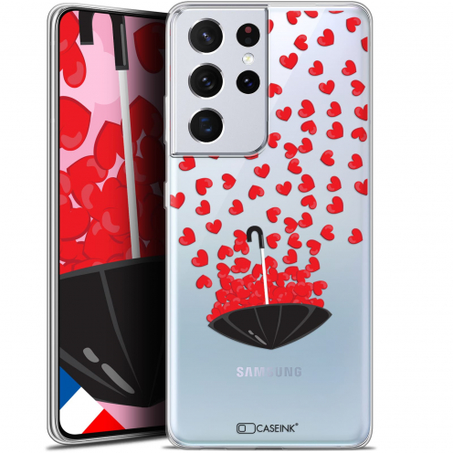 "Carcasa Gel Extra Fina Samsung Galaxy S21 Ultra (6.8"") Love Parapluie d'Amour"