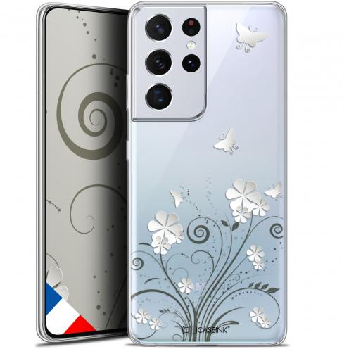 "Carcasa Gel Extra Fina Samsung Galaxy S21 Ultra (6.8"") Summer Papillons"