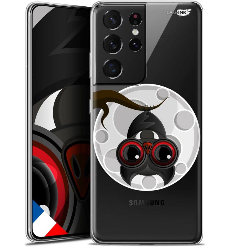 "Carcasa Gel Extra Fina Samsung Galaxy S21 Ultra (6.8"") Design Petit Vampire"