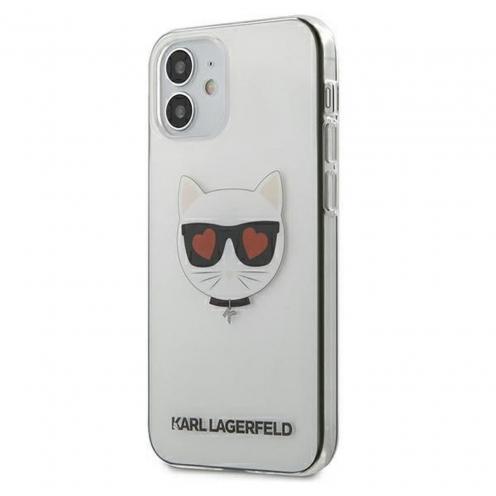 Carcasa Karl Lagerfeld® KLHCP12SCLTR iPhone 12 MINI transparent