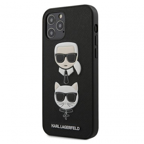 Carcasa Karl Lagerfeld® KLHCP12MSAKICKCBK iPhone 12 / 12 PRO Noir