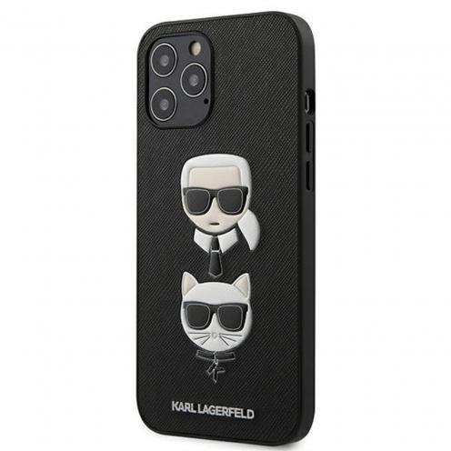 Carcasa Karl Lagerfeld® KLHCP12LSAKICKCBK iPhone 12 PRO MAX Noir
