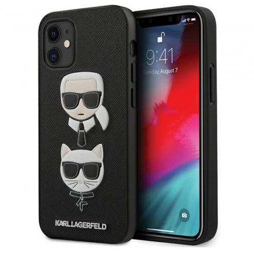 Carcasa Karl Lagerfeld® KLHCP12SSAKICKCBK iPhone 12 MINI Noir
