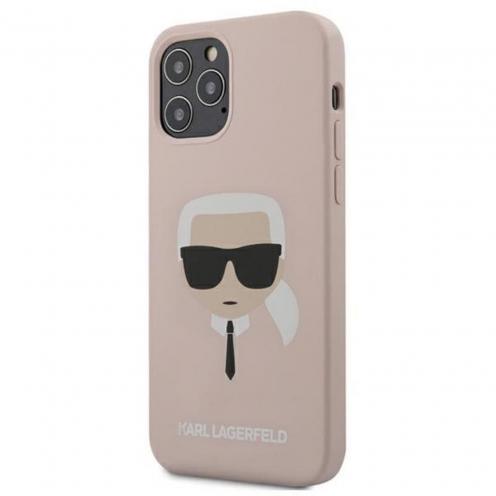 Carcasa Karl Lagerfeld® KLHCP12MSLKHLP iPhone 12 / 12 PRO Rose