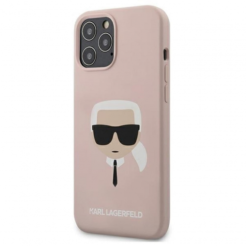 Carcasa Karl Lagerfeld® KLHCP12LSLKHLP iPhone 12 PRO MAX Rose