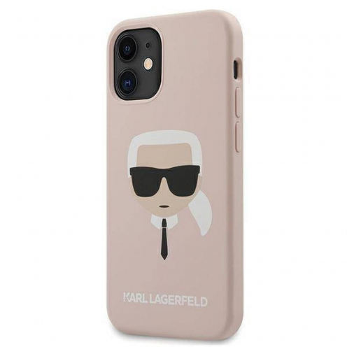 Carcasa Karl Lagerfeld® KLHCP12SSLKHLP iPhone 12 MINI Rose