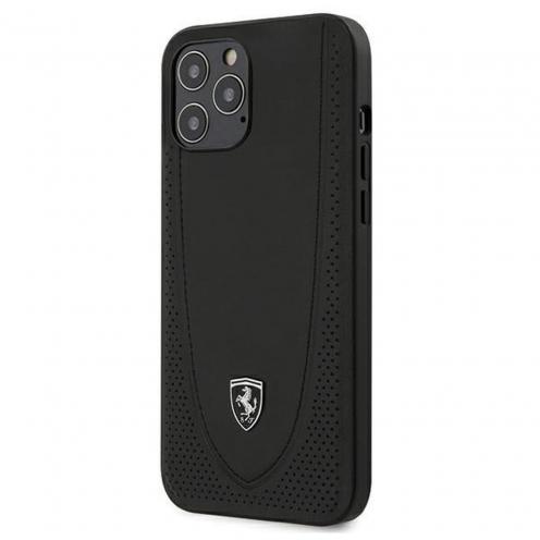 CarcasaFerrari® FEOGOHCP12LBK iPhone 12 Pro Max Noir
